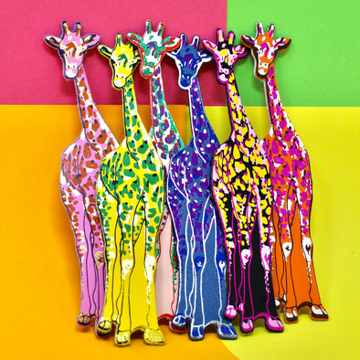 Ark Colour Design - Giraffe Bookmark