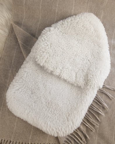 Celtic & Co - Sheepskin Hot Water Bottle Cover