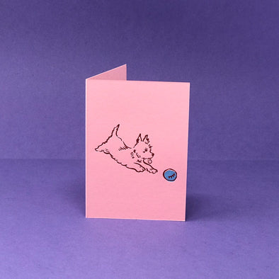 Ark Colour Design - Card - Little Scottie Dog