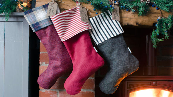 Ian Mankin - Christmas Stocking - Kintyre Tartan