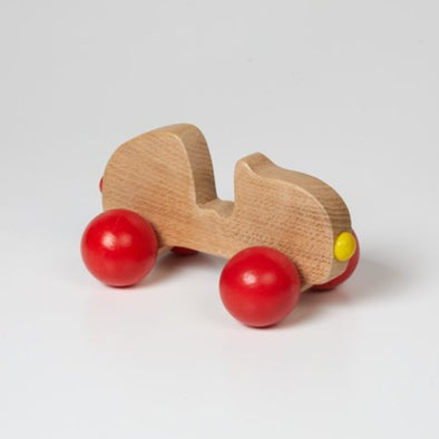 Tegid - Curvy Wooden Push Along Car