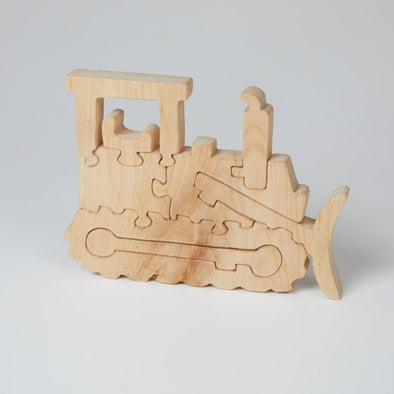 Tegid - Bulldozer Jigsaw Puzzle - Natural