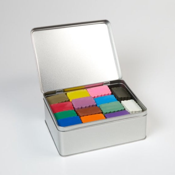 Great & Good Craft - Tin of Colour Clay - 14 Colours