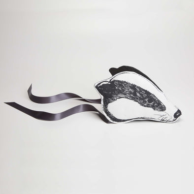 Animalesque - Heirloom Badger Headdress