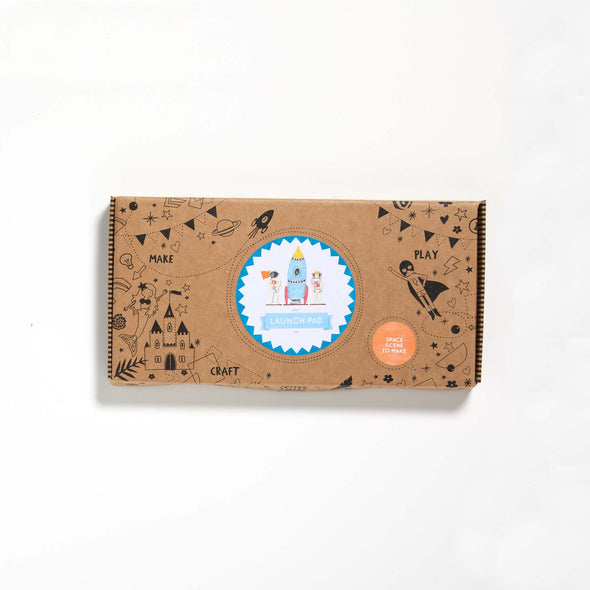 Cotton Twist - Activity Kit Box - Space Scene
