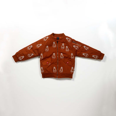 Bulb London - Embroidered Bomber - Recycled Polyester