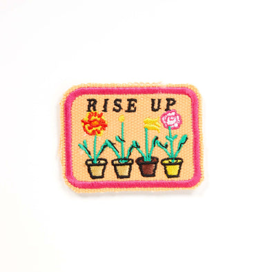 MW Studio - Iron on Cloth Patch - Rise Up