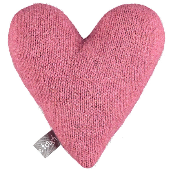 Catherine Tough - Snuggly Lavender Heart - Pink