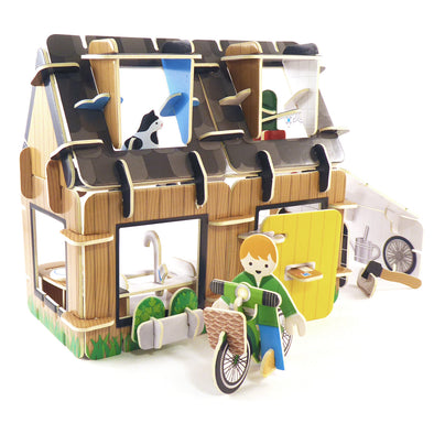 Playpress - Eco House Build & Play Set