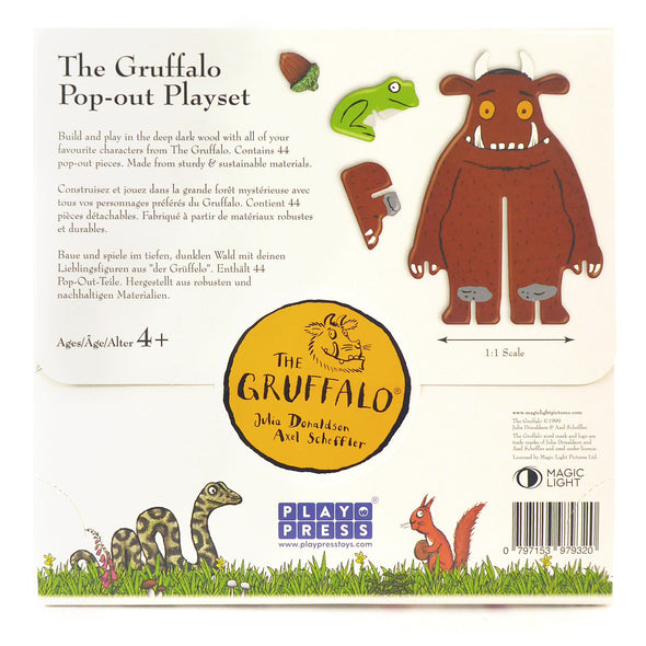 Playpress - The Gruffalo Build & Play Set