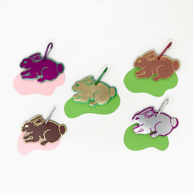 Ark Colour Design- Bunny Bag Tag