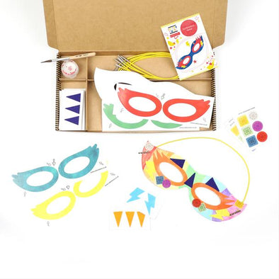 Cotton Twist - Craft Kit - Superhero Masks