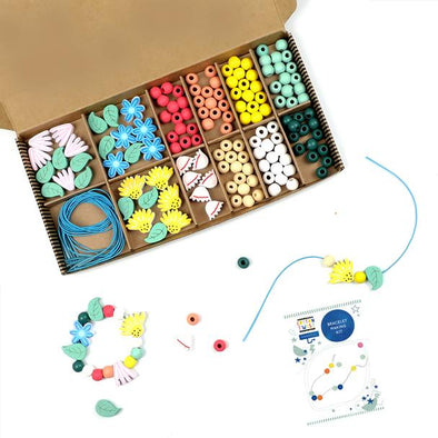 Cotton Twist - Beading Kit - Wildflowers