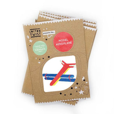 Cotton Twist - Mini Craft Kit - Model Aeroplane
