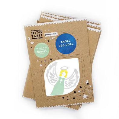 Cotton Twist - Mini Craft Kit - Christmas Angel Treasure Hunt