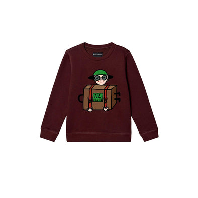 Bulb London - Traveller Sweatshirt - Maroon