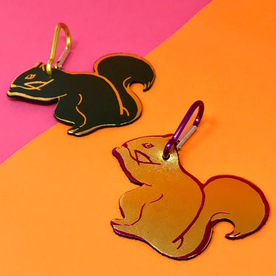 Ark Colour Design - Squirrel Bag Tag