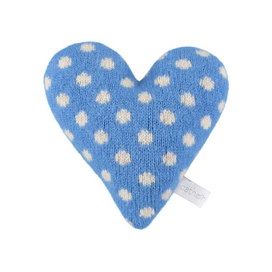 Catherine Tough - Snuggly Lavender Heart - Blue