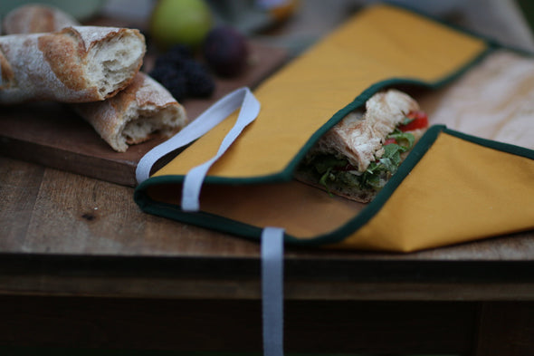 Bric - Picnic / Sandwich Wrap - Forest Green