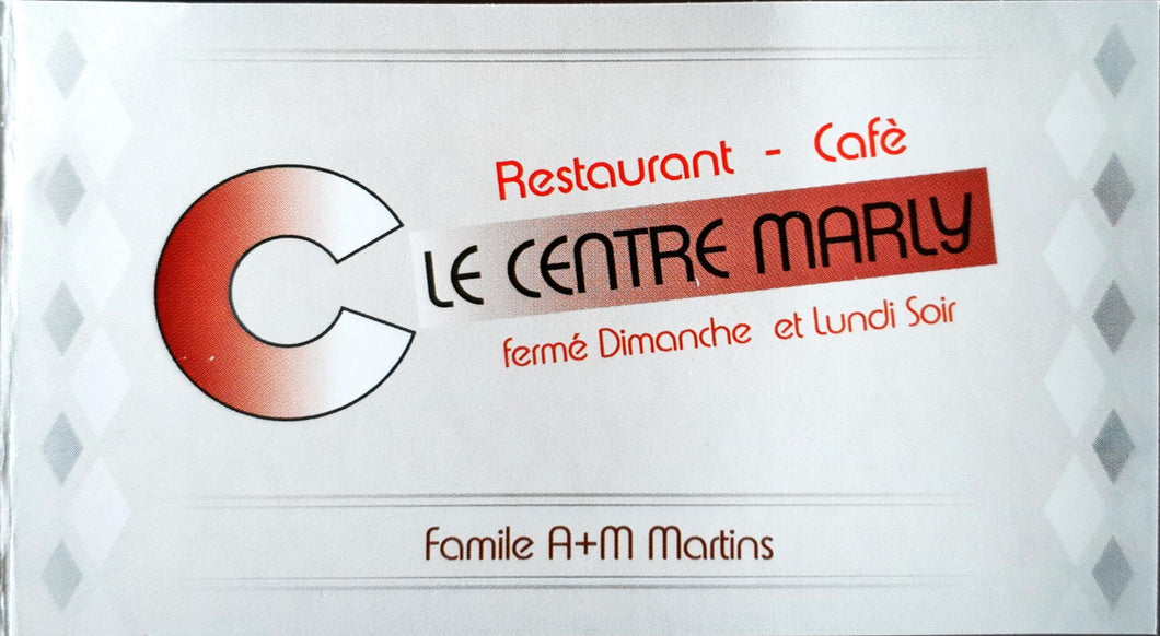 Restaurant Le Centre Marly