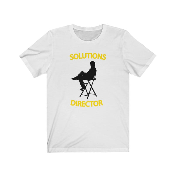 Solutions Director - Unisex Jersey Short Sleeve Tee