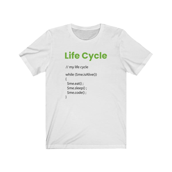 Life Cycle - Unisex Jersey Short Sleeve Tee