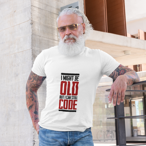 I Might Be Old – Unisex Retro Tee