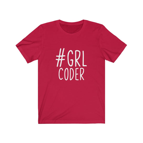 #GRL Coder – Ladies Short Sleeve Tee
