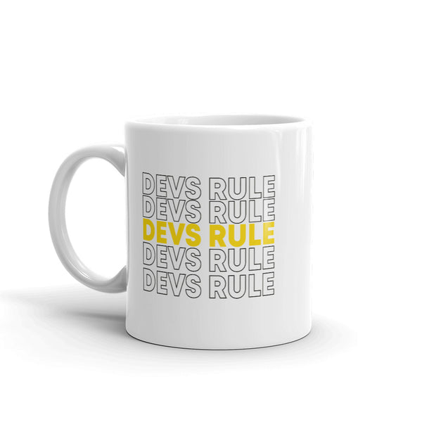 Devs Rule, Version II - Mug