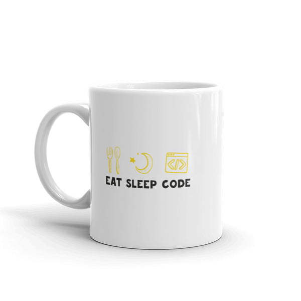 Eat. Sleep. Code. - Mug