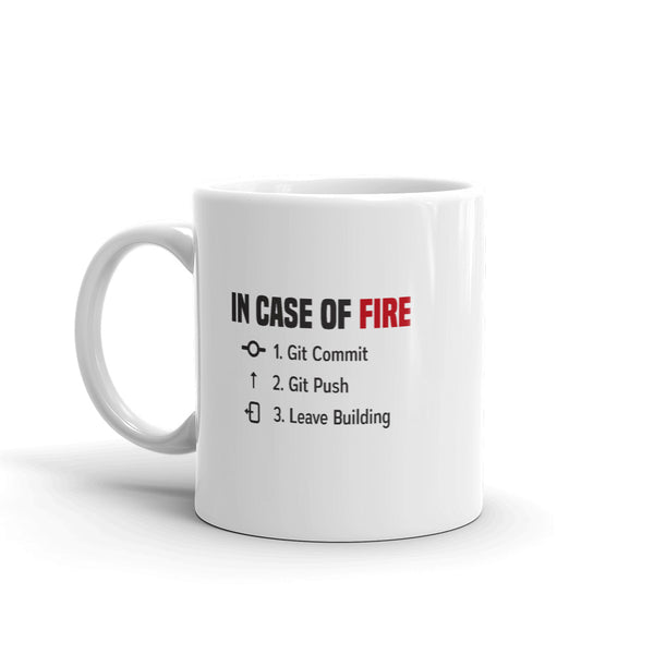 In Case of Fire - Mug