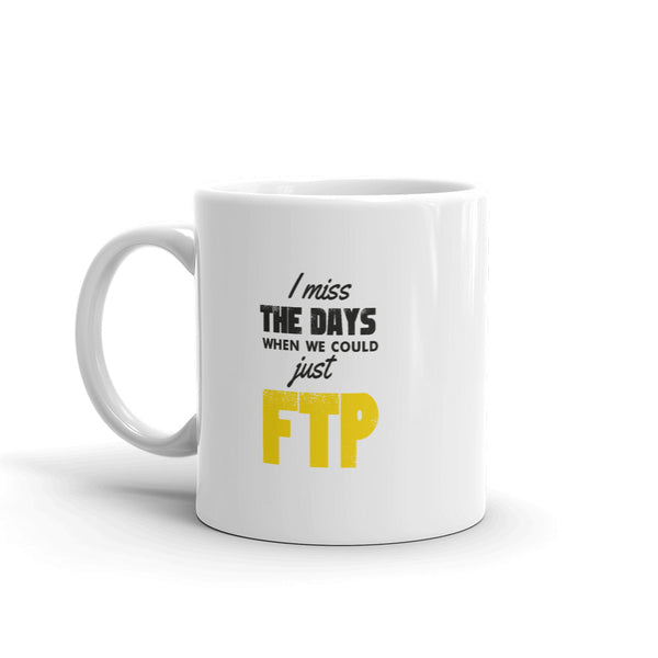 Why Can't I Just FTP? - Mug