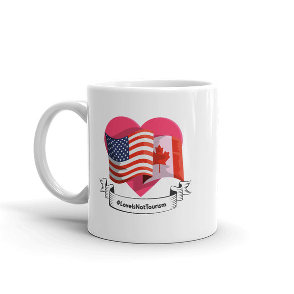 Love Is Not Tourism (Flags) V2 - Mug