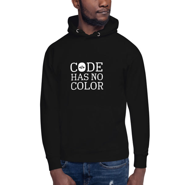 Code Has no Color - Unisex Hoodie