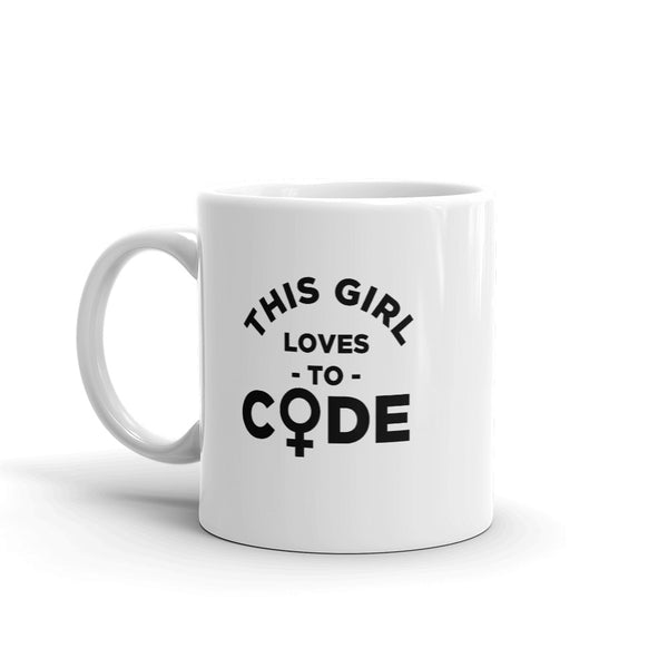 This Girl Loves to Code - Mug