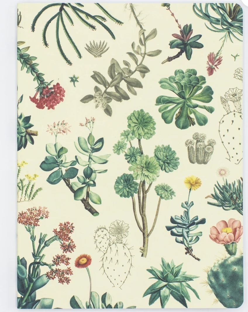 Succulents Softcover Journal