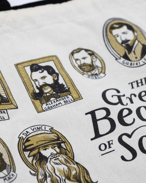 GREAT BEARDS OF SCIENCE TOTE