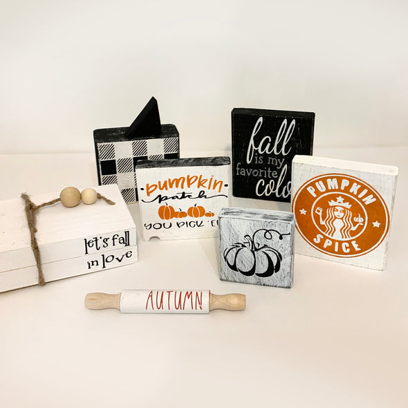 Fall Decor, Deluxe Set