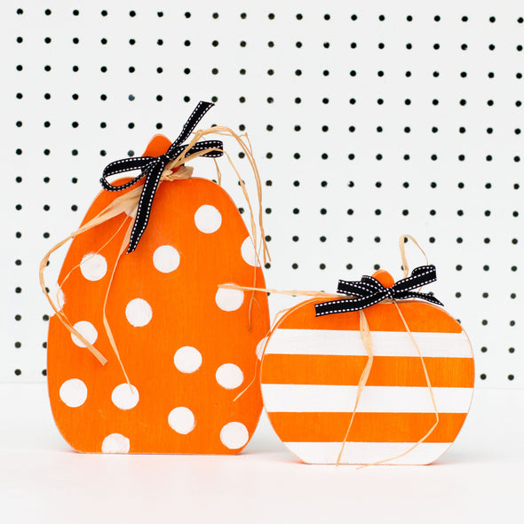 Distressed Pumpkin Cutouts