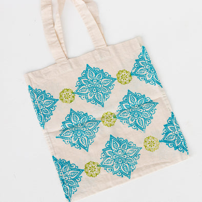 Block Stamps & Create a Tote Bag Project
