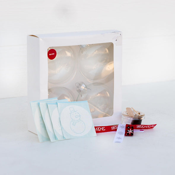 Holiday Ornament Etching Kit