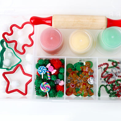 Playdough Christmas Cookie Set