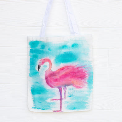 Custom Art Canvas Bag (with options)