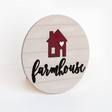 Farmhouse Round