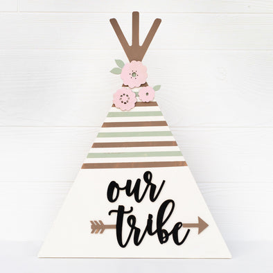 Our Tribe Teepee Home Decor