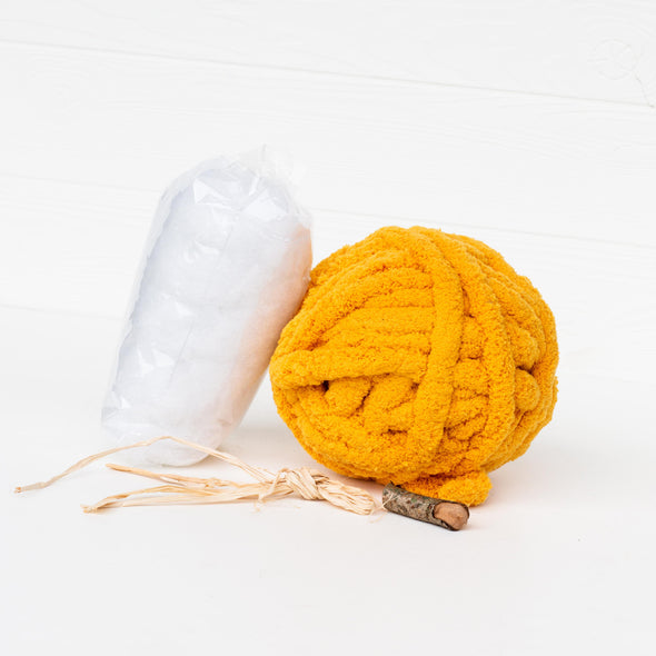 DIY Chunky Knit Pumpkins