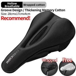 Silicone Bicycle Saddle Cushion Cover