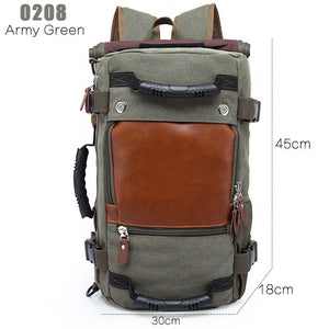 Multifunctional Waterproof Travel Backpack