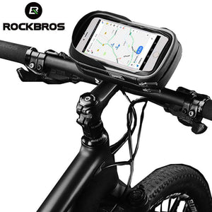 Rotatable Bicycle/ Electric Scooter Phone Holder Storage Bag