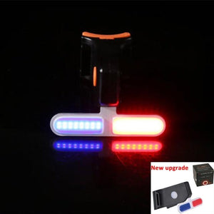 LED Red Bicycle Tail Light